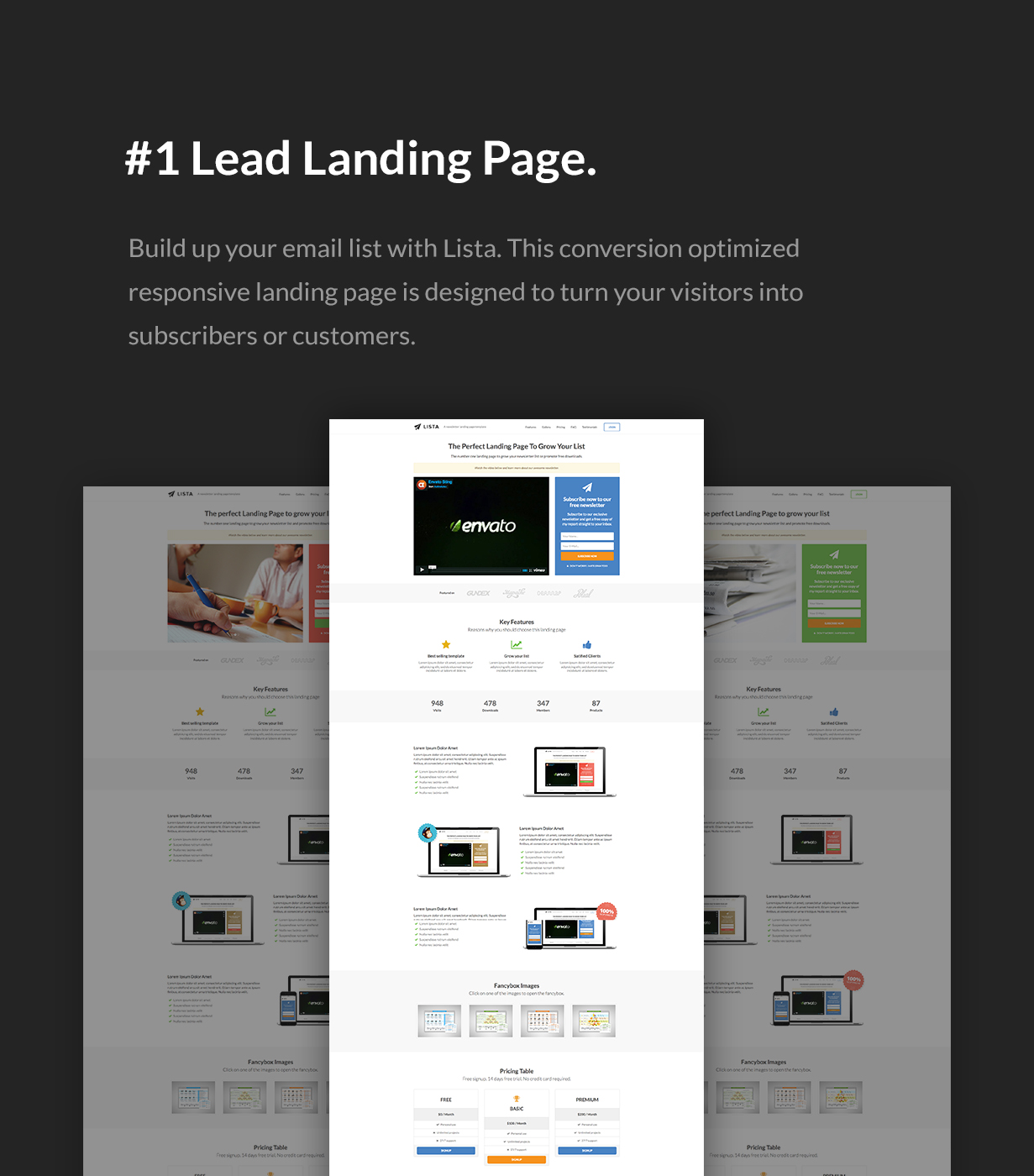 Lead Landing Page